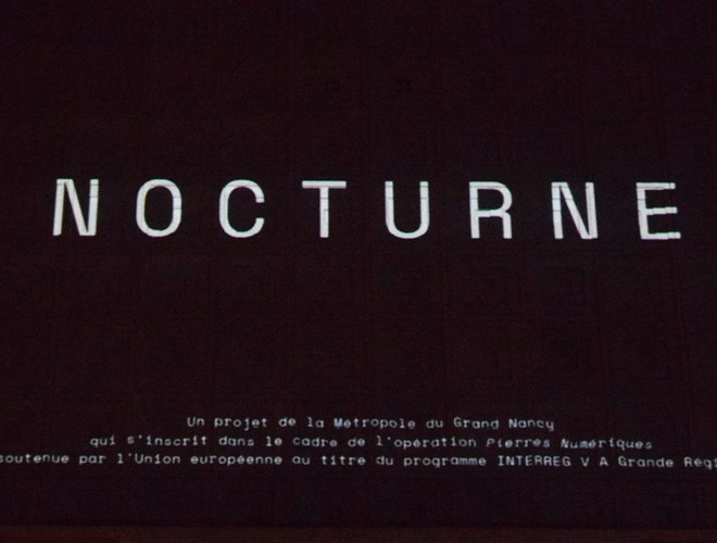 "Nancy, animation ""Nocturne"""