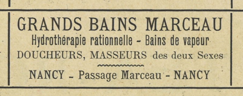 Nancy, les Bains Marceau