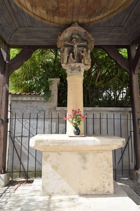 Nancy, restauration de la Croix Gagnée