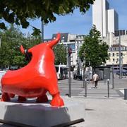 le taureau rouge de Gé. Pellini