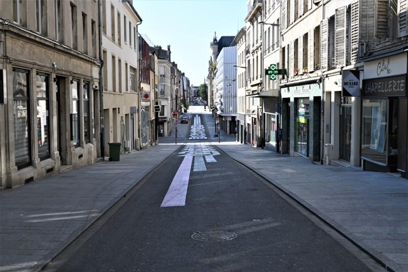 Nancy, rue de la Visitation