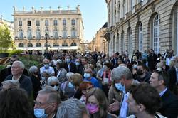 "Nancy, 24/09/2021 : inauguration du Jardin Ephémère ""Eau de Vies"""
