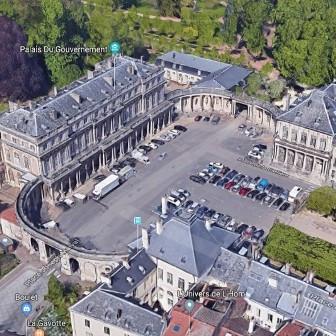 hémicycle Charges de Gaulle