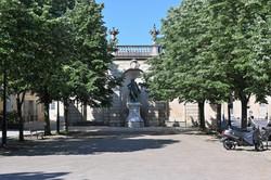Nancy, terrasse de la Pépinière