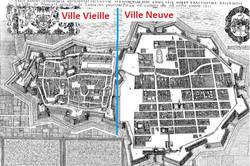 Nancy, Ville-Vieille, Ville-Neuve