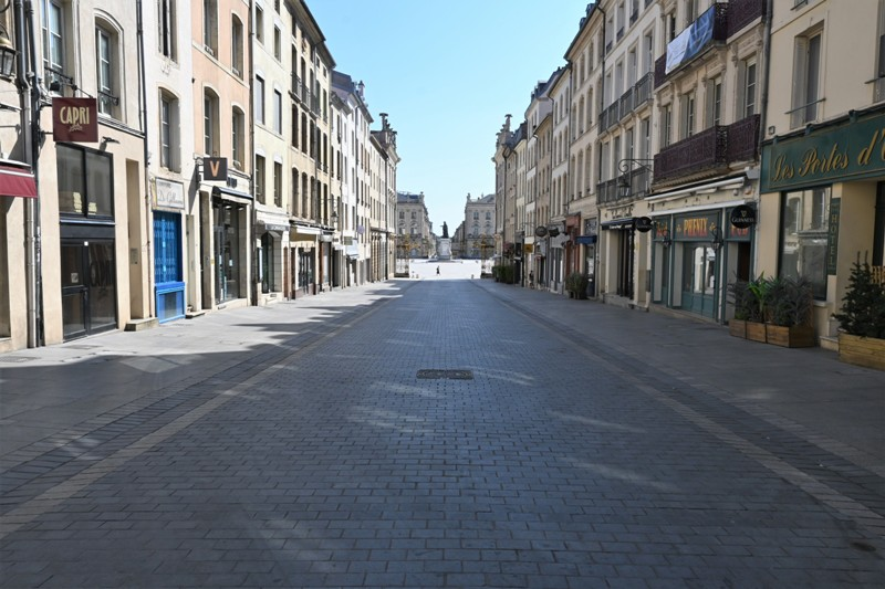 Nancy, rue Stanislas