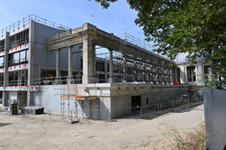 Nancy Thermal, construction complexe thermal