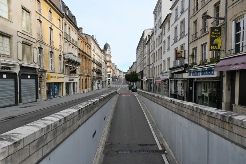 Nancy, rue Raugraff