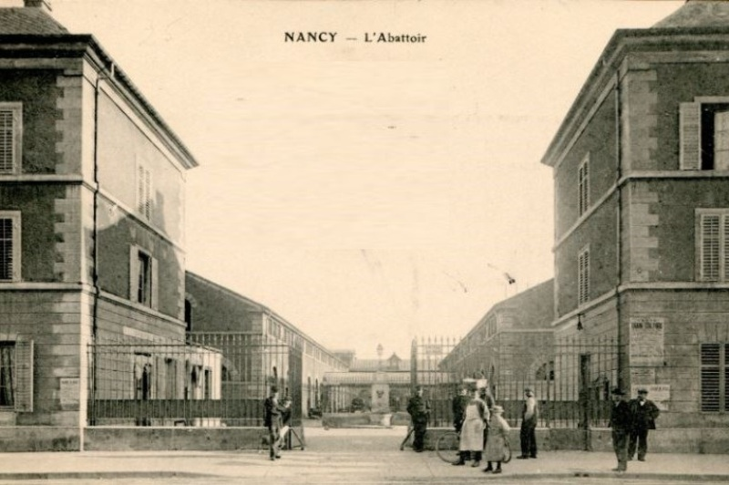 Nancy, les anciens abattoirs
