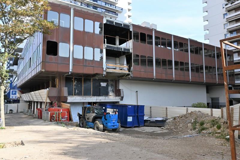 Nancy, extension CC Saint-Sébastien