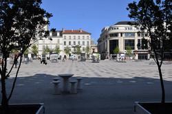 Nancy, place Simone Veil
