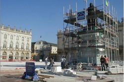 Nancy, rénovation place Stanislas