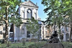 """Nancy, sculpture de Paul Dubois : """"Le Souvenir"""""""