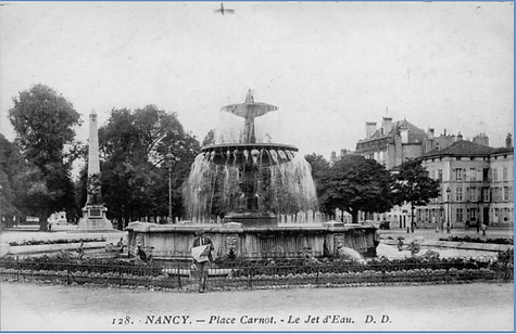 Nancy place Carnot, cours Leopold, hier