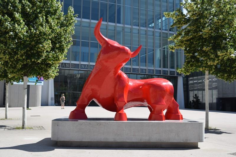 Nancy, le taureau de Gé. Pellini