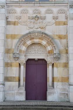 Nancy, basilique du sacré-Cœur