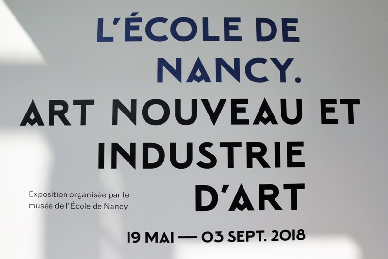 Nancy, exposition Ecole de Nancy