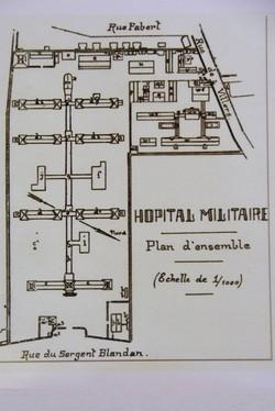 Nancy, hôpitaux militaires