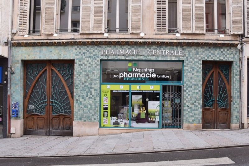 Nancy, pharmacie Rosfelder