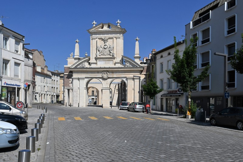 Nancy, porte Saint Nicolas