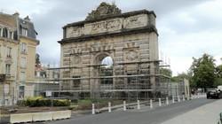 Nancy, rénovation porte Desilles