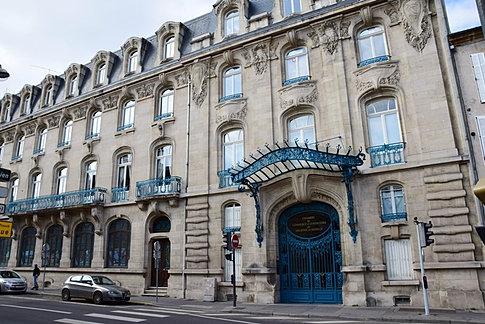 D couvrir et visiter les institutions de nancy nancy focus for Chambre de commerce de nancy