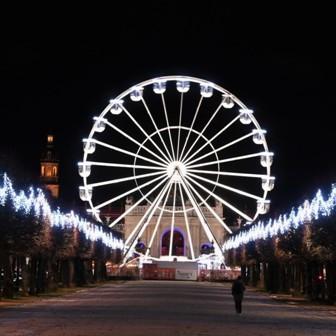... la grande roue de Noël