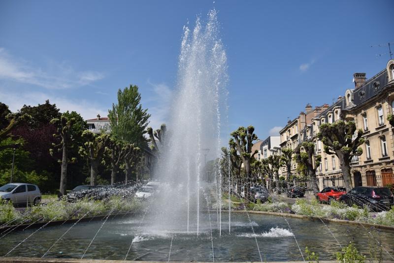 Nancy, square Monseigneur Petit