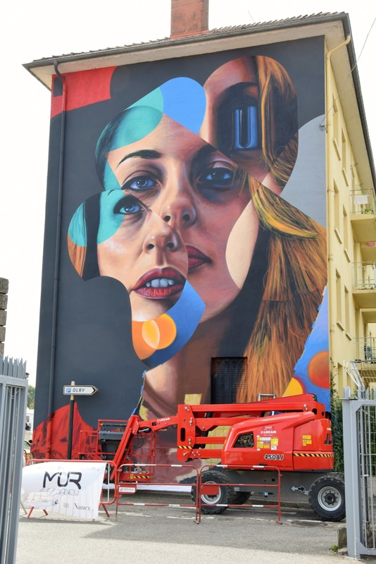 Nancy, la fresque de Kogaone