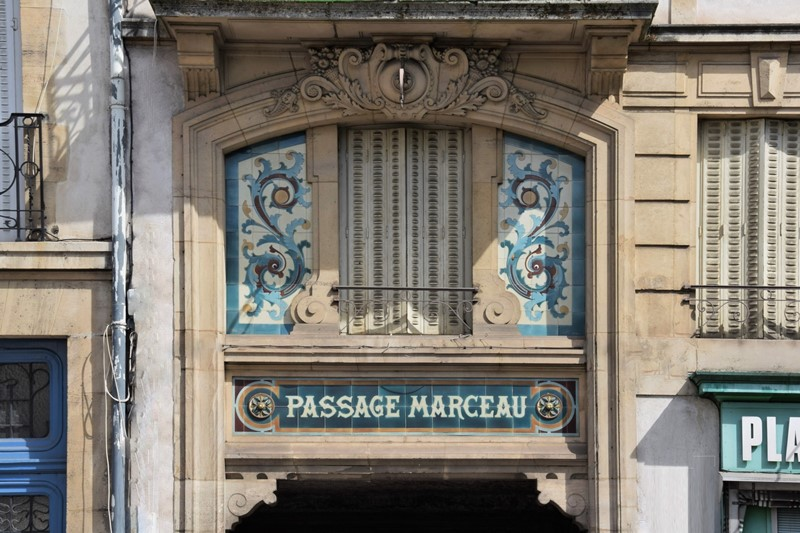 Nancy, passage Marceau