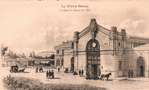 Nancy hier, gare de Nancy