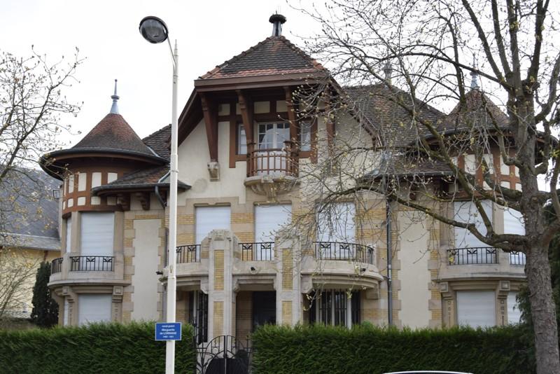 Nancy, Art déco, parc de Saurupt