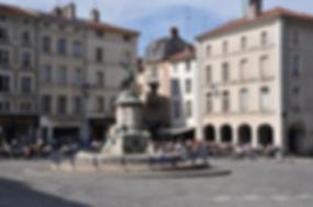 Nancy hier, place Saint Epvre