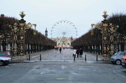 Nancy, grande roue de Noël 2017