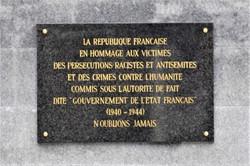 Nancy Grand Cœur, place des Justes