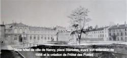 Nancy, ses trois hôtels de ville
