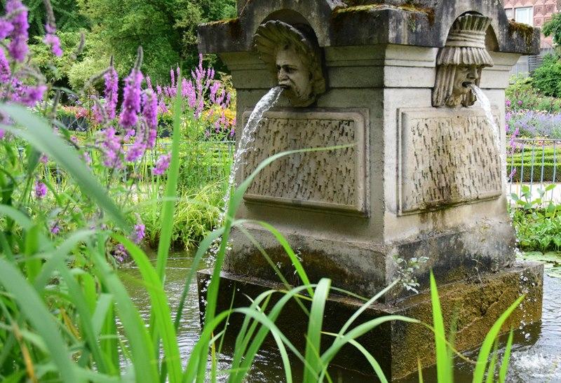 Nancy, jardin Godron