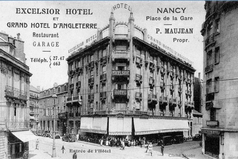Nancy, brasserie Excelsior
