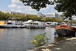 Nancy, port de plaisance St-Georges