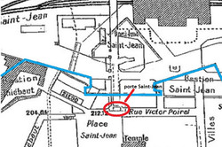 Nancy, porte Saint-Jean