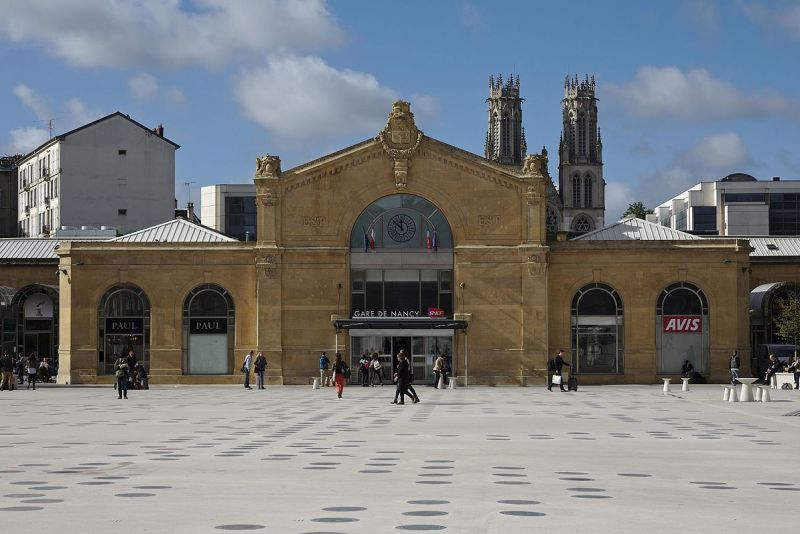 Nancy, gare Saint-Jean