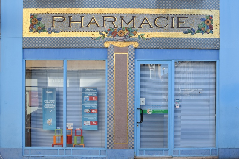 Nancy, pharmacie Point Central