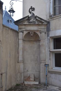 Nancy, rénovation de l'Hôtel de Gellenoncourt