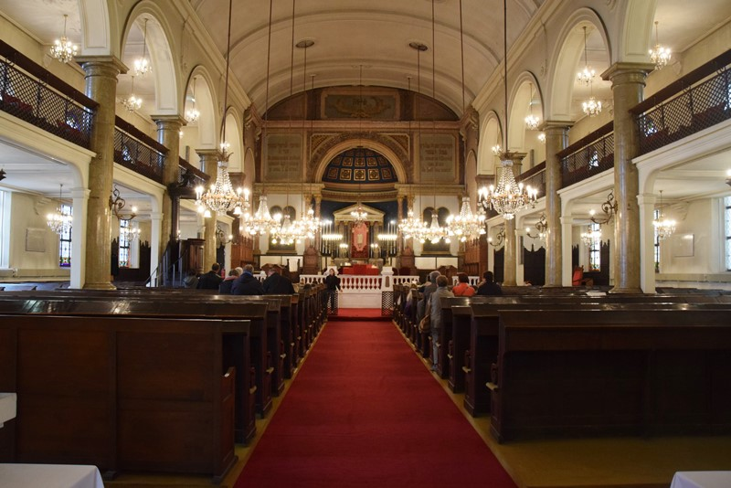 Nancy, la synagogue