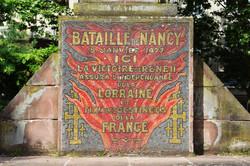 Nancy, la croix de Lorraine