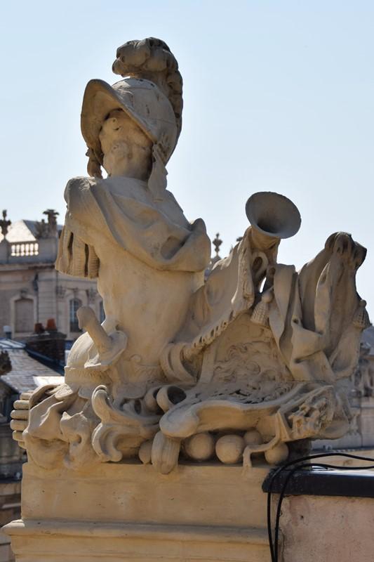 Nancy, l'Arc Héré de l'intérieur