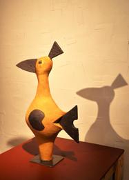 """Sculpture de la collection """"Drôles d'oiseaux"""""""