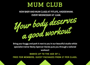 The Fit Mum Club at FitLife