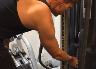 How to do... a tricep push down