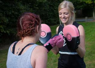 Boxing- burn calories, get fit and have fun!